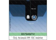 TOYOTA AVENSIS III A AGC úchyt vo výške 16,5cm