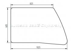 NEW HOLLAND Bager Case CX - bočné pravé predné