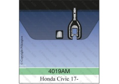 HONDA CIVIC A 5D PILKINGTON