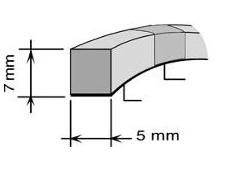 AA BAUSET MAZDA, HONDA 5mm x 7mm