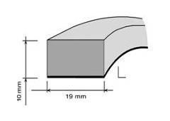 AA DISTANČNÁ PENA AUDI/BMW/RENAULT 19mm x 10mm