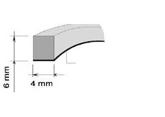 AA BAUSET PRÍLEPNÝ 4mm x 6mm (15m) NEDOSTUPNE